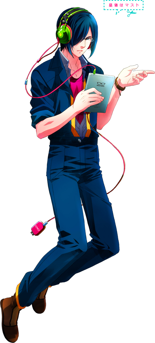 Tags: Anime, Nakajima Atsuko, Studio DEEN, Meganebu!, Tablet, Official Art