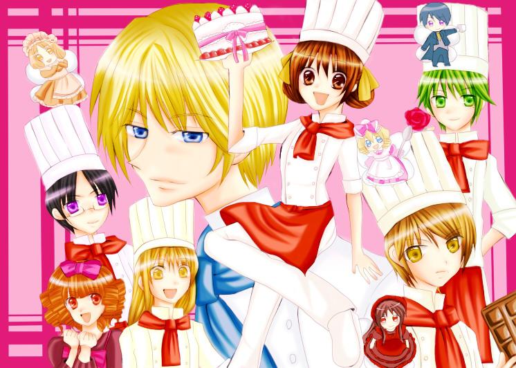 Tags: Anime, Pixiv Id 91969, Yumeiro Pâtissière, Amano Ichigo, Henri ...