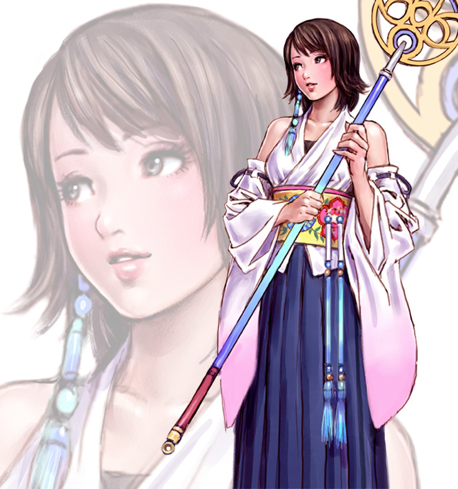 Tags: Anime, Yamashita Shunya, SQUARE ENIX, Final Fantasy X, Yuna, Fanart