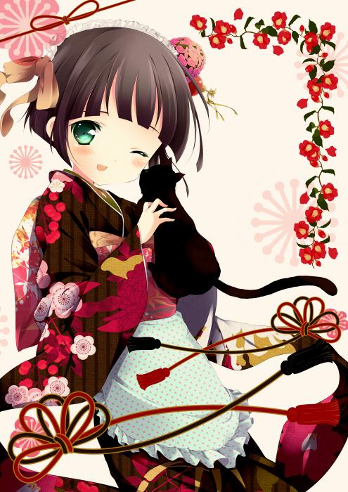 Tags: Anime, Shiratama Dango, Ikoku Meiro no Croisée, Yune (Ikoku Meiro no Croisee)