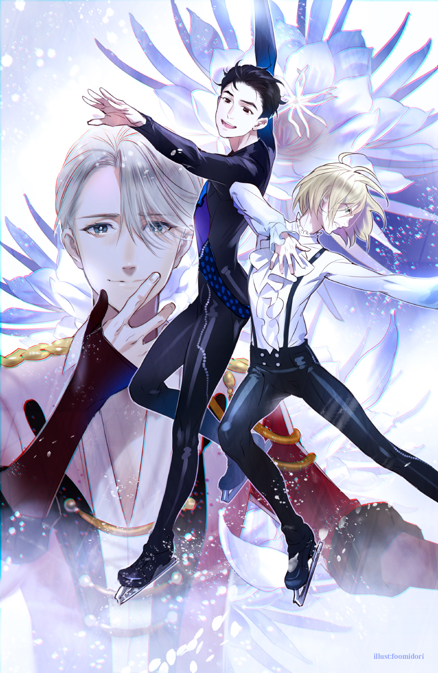 Yuri On Ice Mobile Wallpaper 2053668 Zerochan Anime Image Board