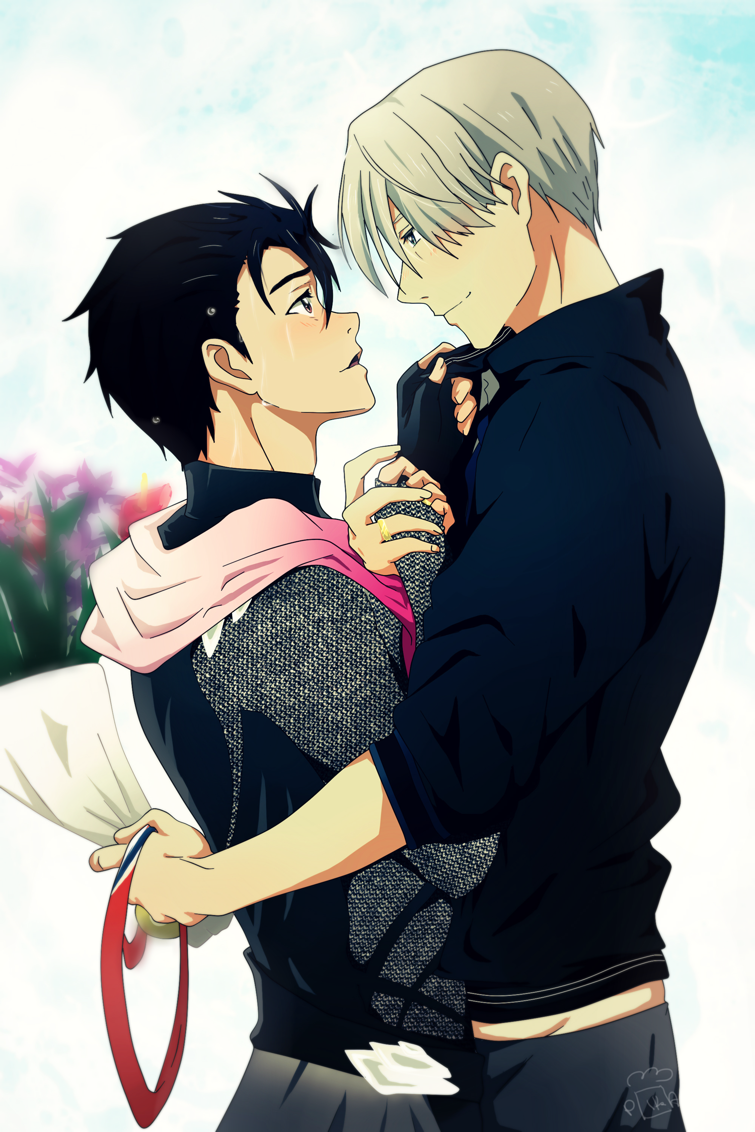 Yuri On Ice Mobile Wallpaper 2058763 Zerochan Anime Image Board