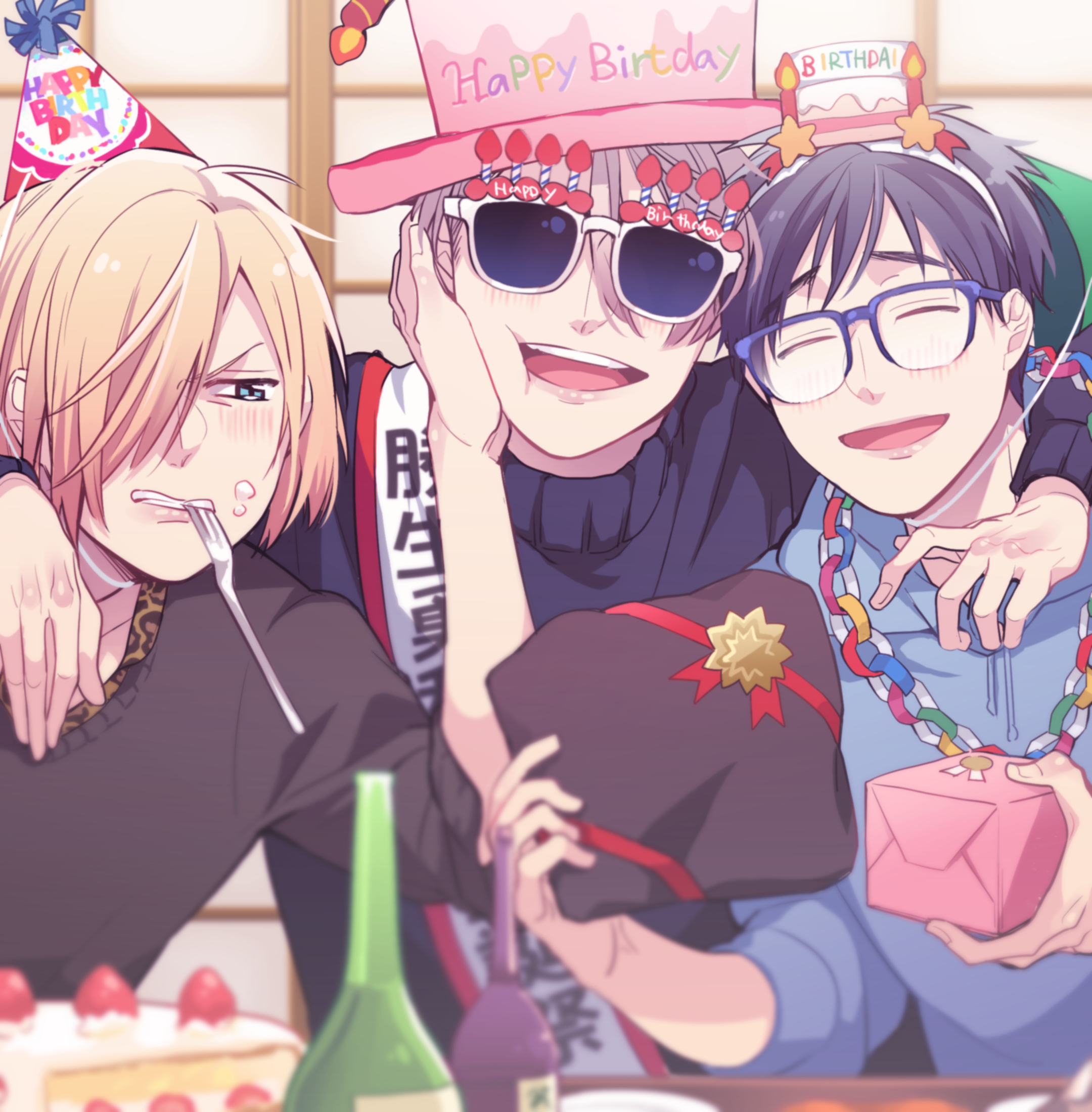 Yuri !! On Ice  Happy Birthday