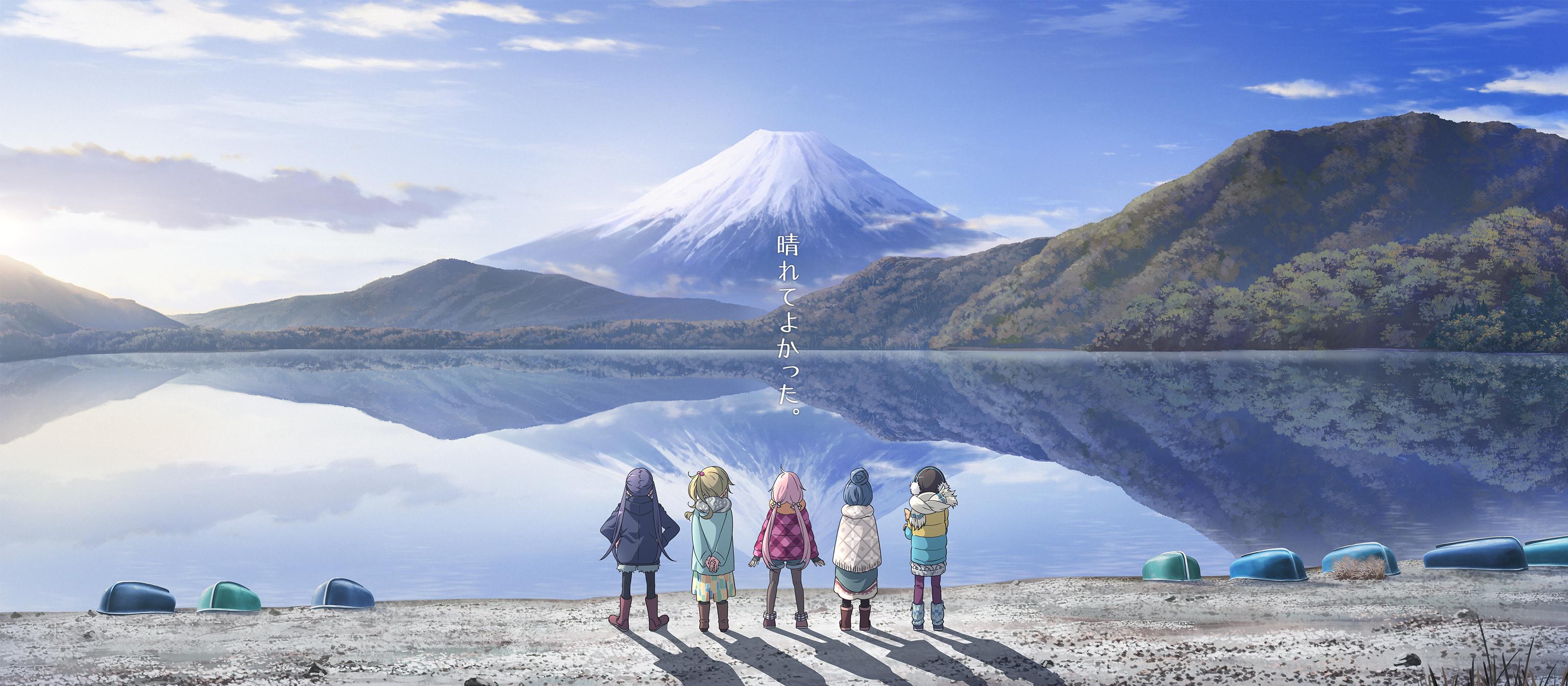 Minimal Design Yuru Camp Zerochan Anime Image Board
