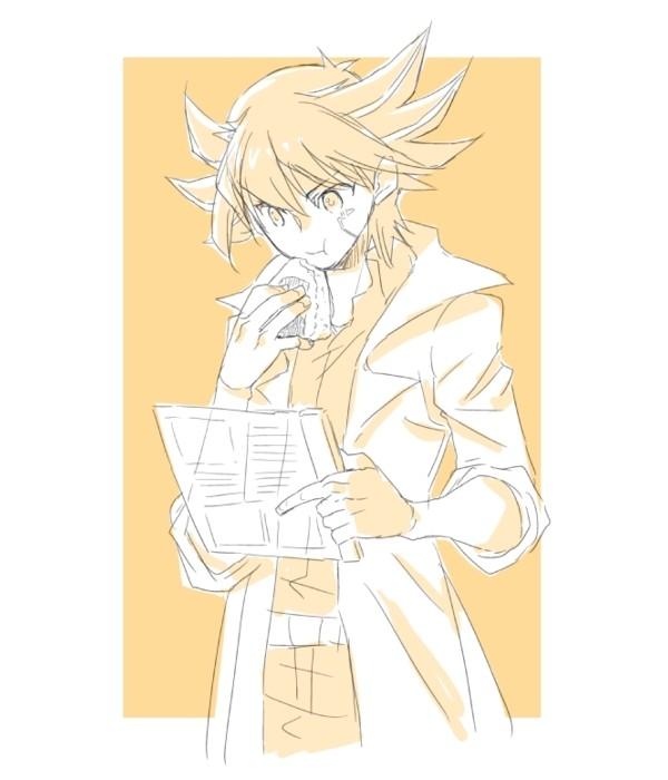 Tags: Anime, Yu-Gi-Oh! 5D's, Yu-Gi-Oh!, Yusei Fudo, Pixiv