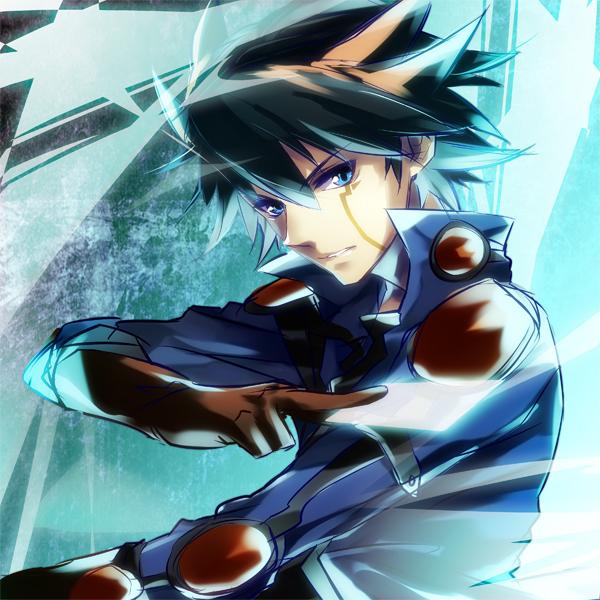 Tags: Anime, Yomo, Yu-Gi-Oh! 5D's, Yu-Gi-Oh!, Yusei Fudo, Fanart, Pixiv, Fanart From Pixiv