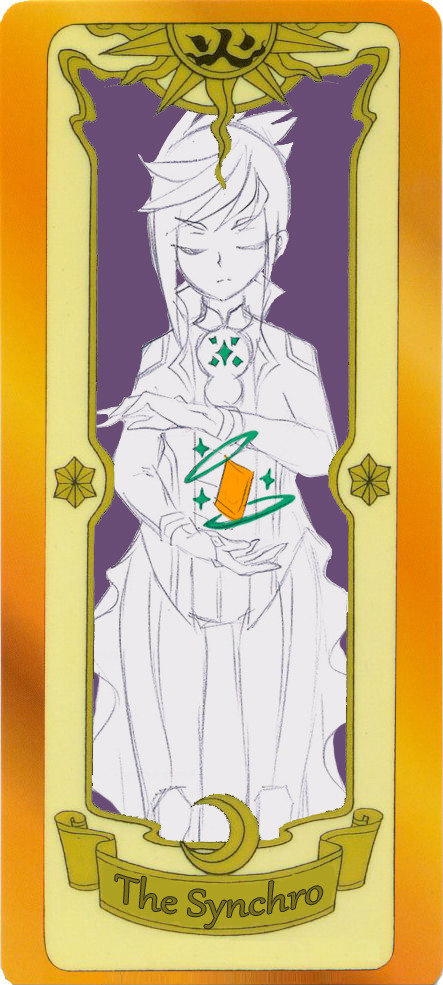 Tags: Anime, Yu-Gi-Oh!, Yu-Gi-Oh! ARC-V, Yuugo (Yu-Gi-Oh! ARC-V), Cardcaptor Sakura (Parody), Tumblr, Fanart