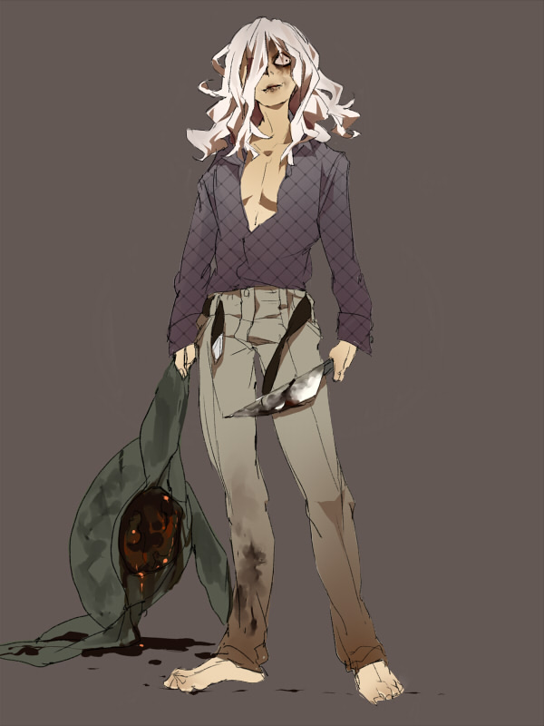Tags: Anime, Dscalzo, Shiki, Yuuki (Shiki), Blood On Weapons, Pixiv