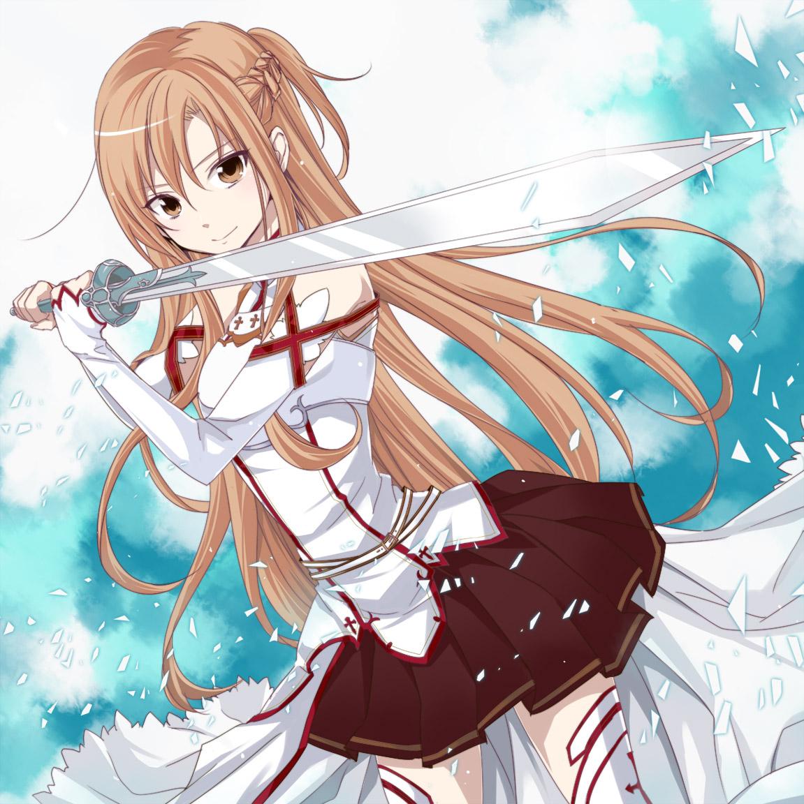 Image result for asuna (sword art online)
