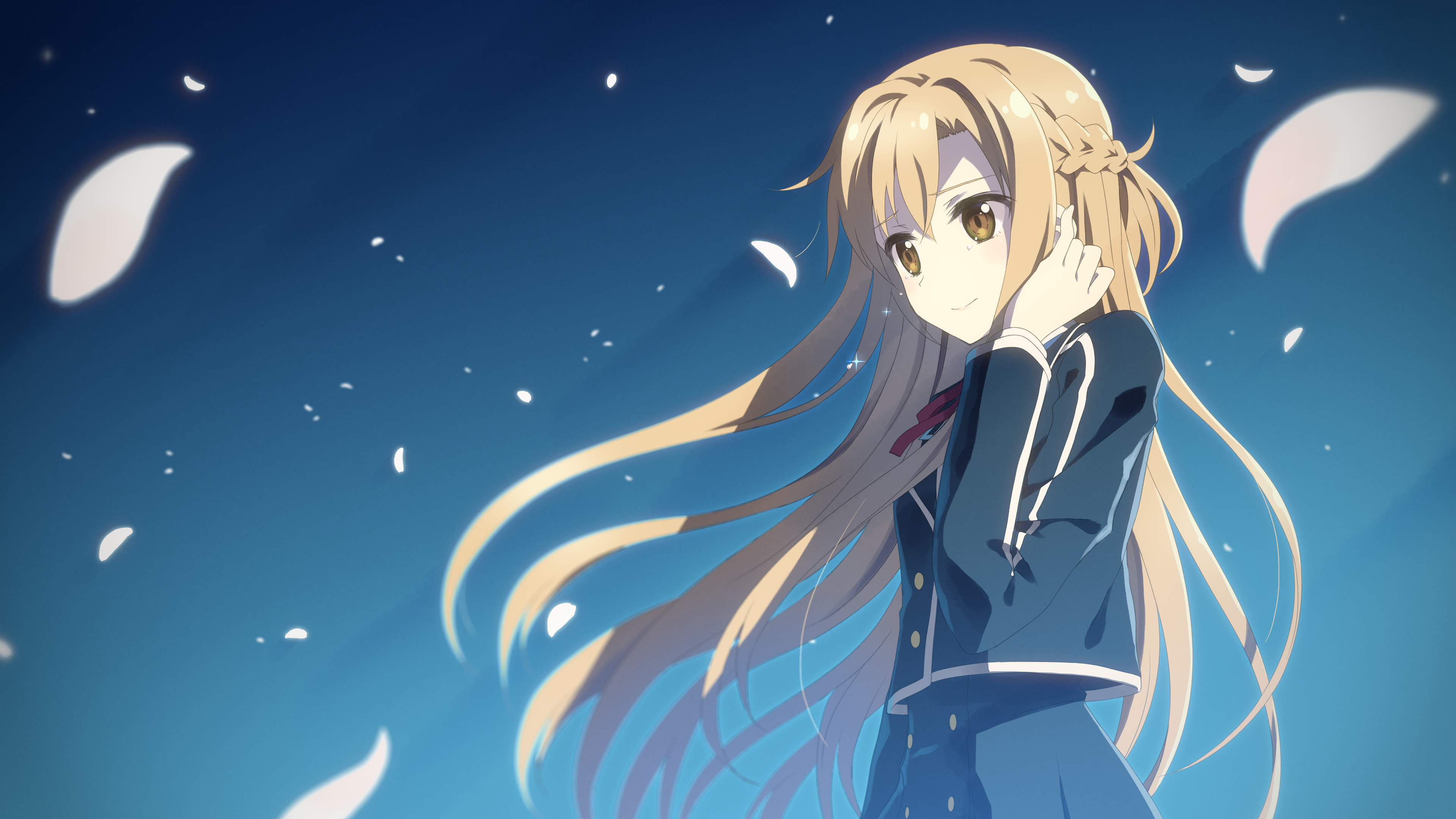 Yuuki Asuna Sword Art Online Hd Wallpaper 1915590
