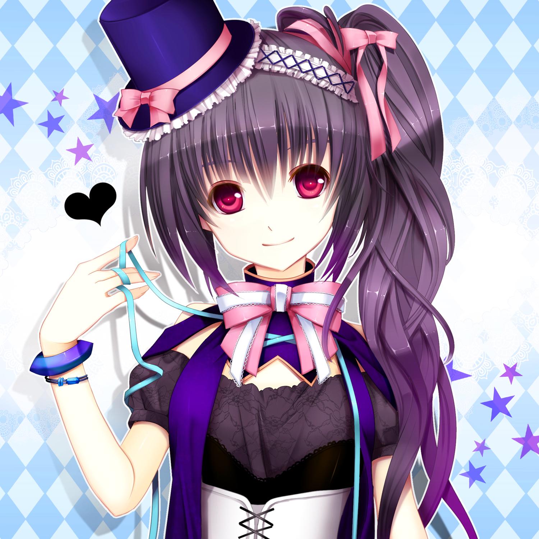 Прикольные картинки для аватарки для девушек аниме,