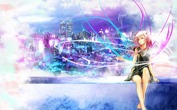 Tags: Anime, redjuice, GUILTY CROWN, Yuzuriha Inori, Blue