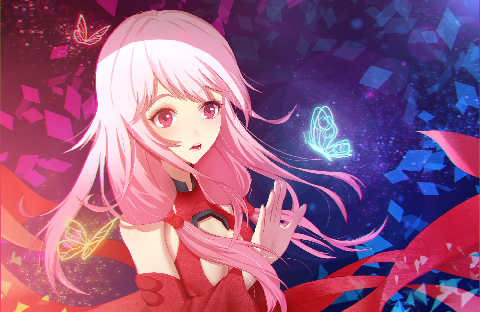 Guilty Crown:Inori Yuzuriha Kawaiii Rocker HD Render | ORS