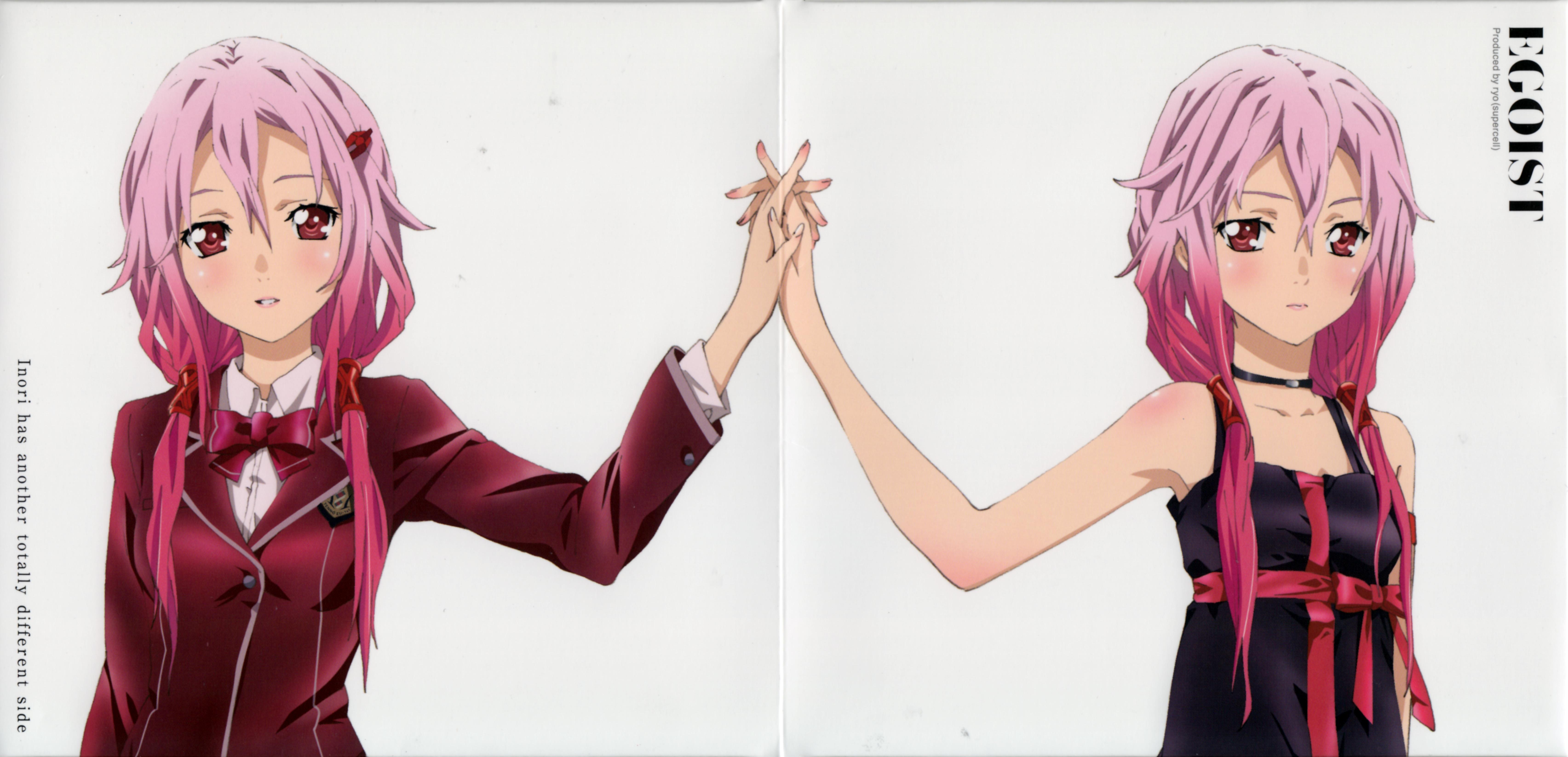 Anime Characters Holding Hands : Yuzuriha inori  zerochan