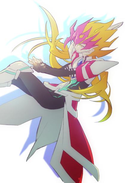 Tags: Anime, Pixiv Id 1380483, Yu-Gi-Oh! ZEXAL, Yu-Gi-Oh!, ZEXAL Power Fusion, Floating Hair, Sitting In Midair