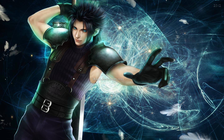 Zack Fair Crisis Core Final Fantasy Vii Wallpaper 1402559