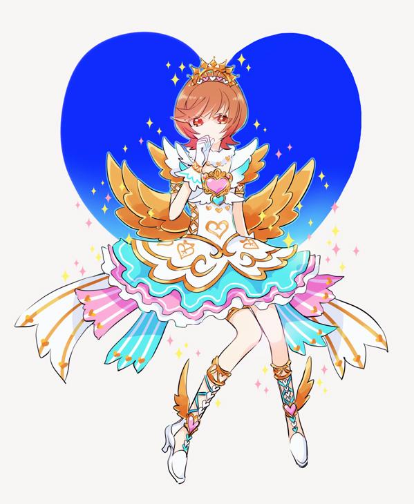 Tags: Anime, Pixiv Id 126428, Yu-Gi-Oh! VRAINS, Yu-Gi-Oh!, Zaizen Aoi, No Nose, Heart Print, Pixiv, Fanart, Fanart From Pixiv