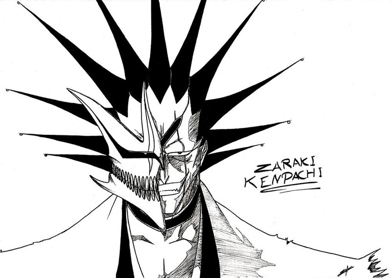 Tags Anime BLEACH Zaraki Kenpachi Gotei 13 11th Squad