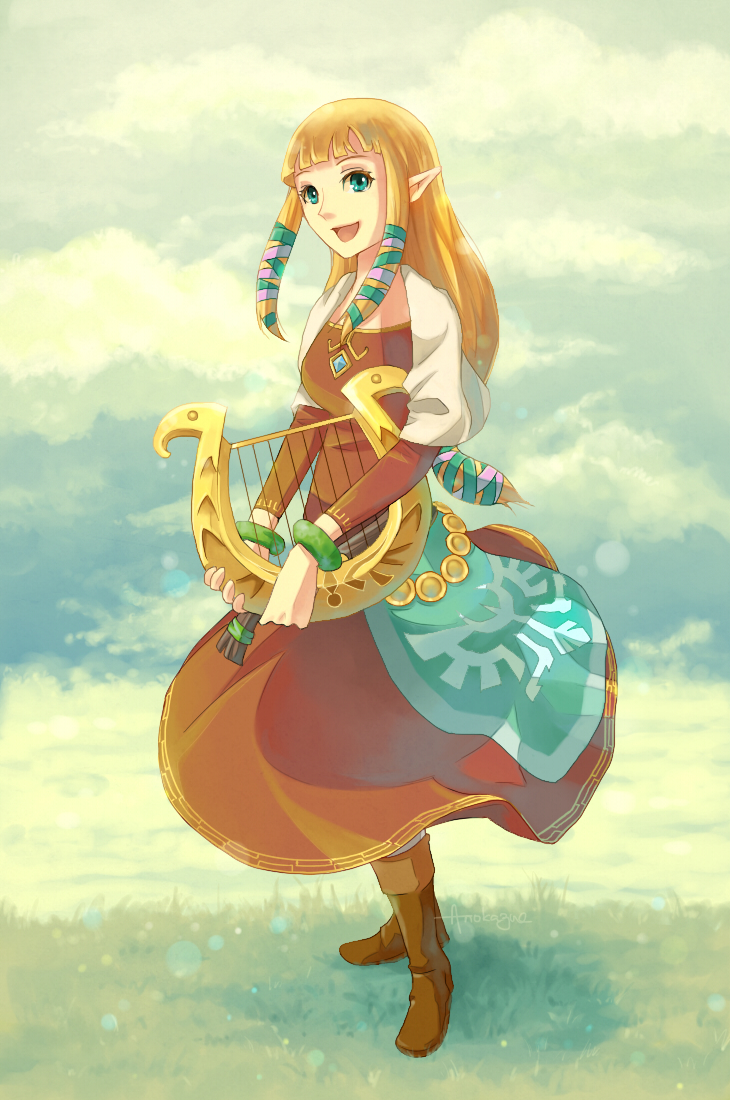 Zelda skyward sword mobile wallpaper 1052335 zerochan for Deviantart wallpaper