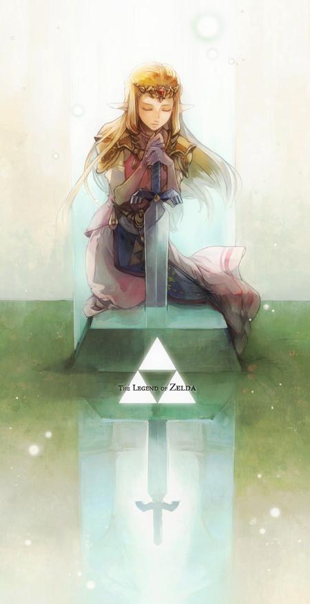 Tags: Anime, S1minami, Zelda no Densetsu: Toki no Ocarina, Zelda no Densetsu, Princess Zelda, Zelda (Toki no Ocarina), Red Gem, Triforce, Master Sword, Pixiv, Fanart From Pixiv, Fanart, Zelda ( Ocarina Of Time)