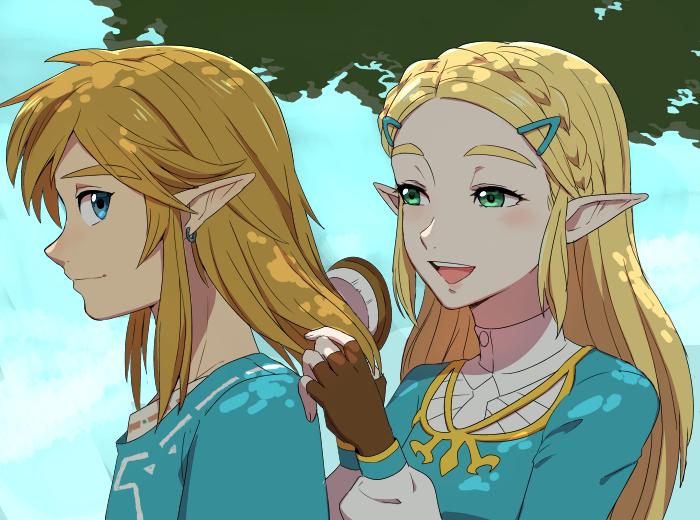 Hair Brushing Blue Eyes Zerochan Anime Image Board