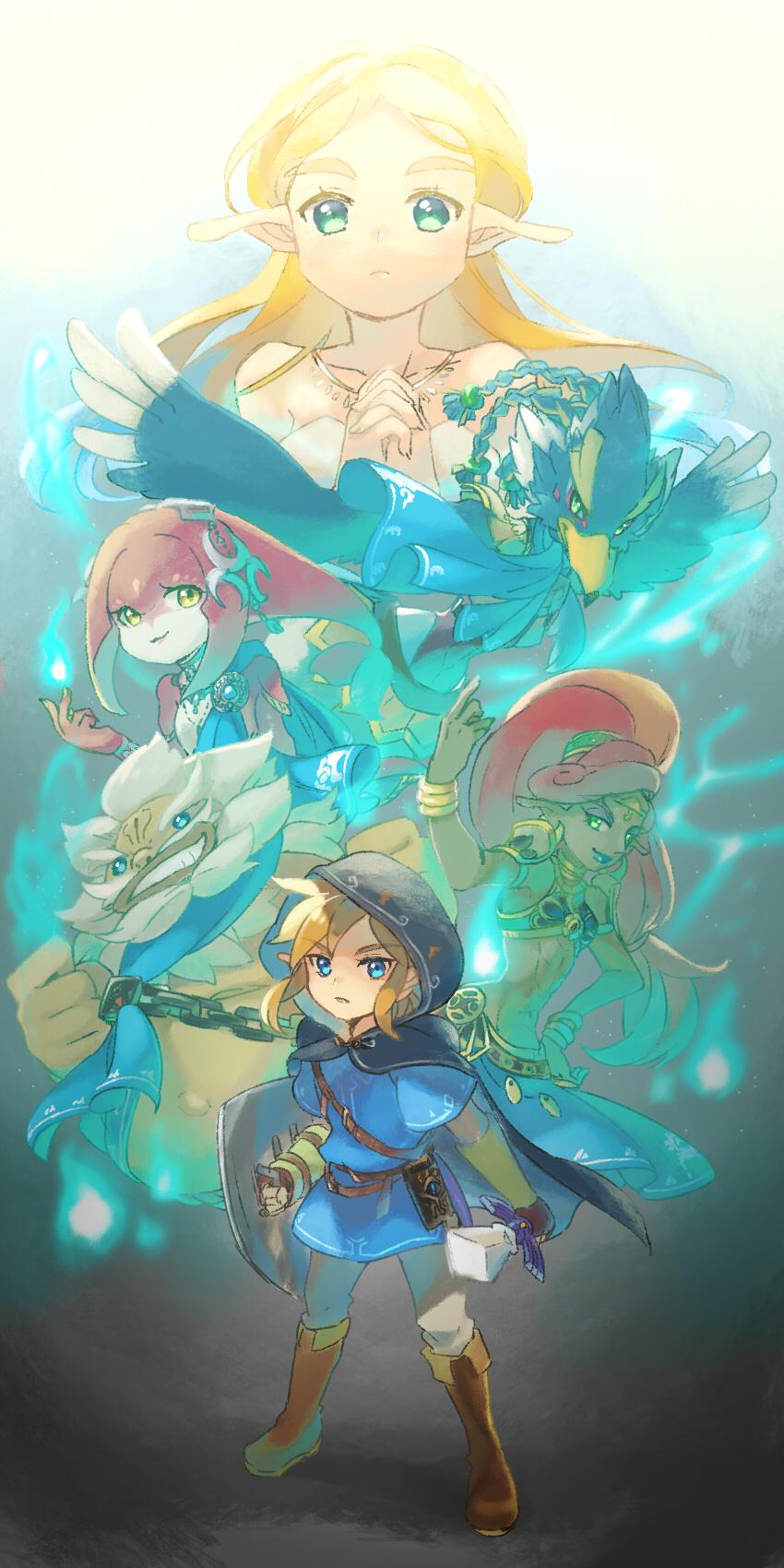 Zelda No Densetsu Breath Of The Wild The Legend Of Zelda Breath
