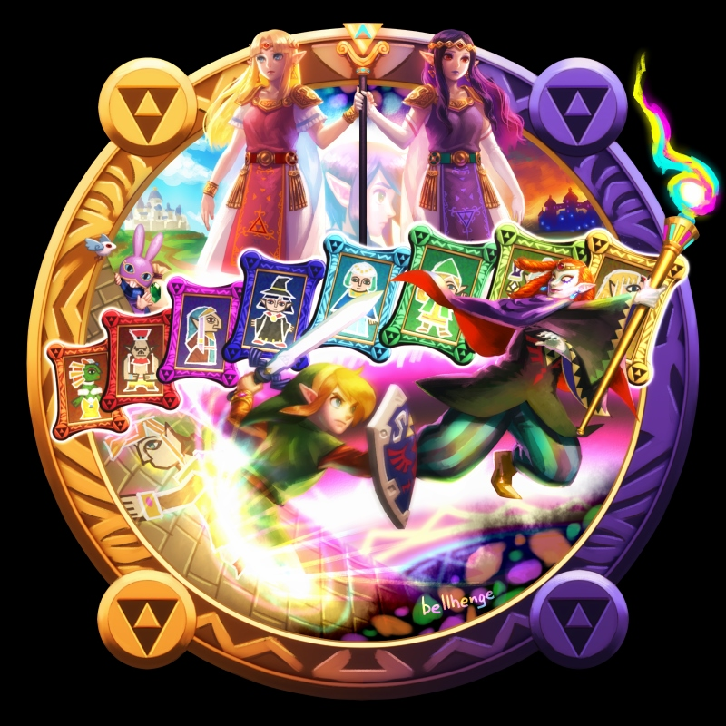 Zelda No Densetsu Kamigami No Triforce 2 A Link Between Worlds