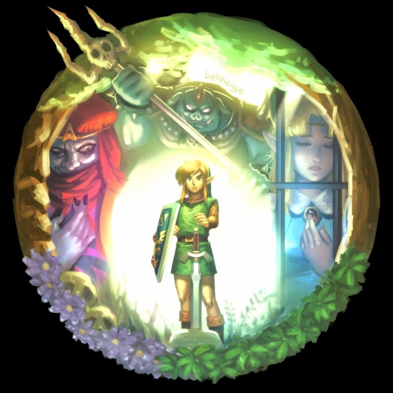 Zelda No Densetsu Kamigami No Triforce The Legend Of Zelda