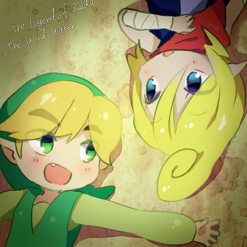 Tags: Anime, Ukata, Zelda no Densetsu: Kaze no Takuto, Zelda no Densetsu, Link (Kaze no Takuto), Link, Tetra, Pixiv, Fanart From Pixiv, Fanart, The Legend Of Zelda: The Wind Waker