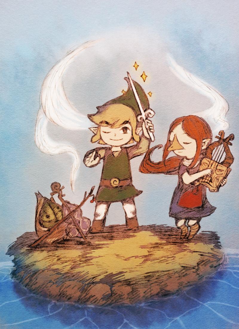 Zelda No Densetsu Kaze No Takuto The Legend Of Zelda The Wind