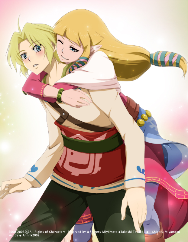 Tags: Anime, Annria2002, Zelda no Densetsu: Skyward Sword, Zelda no Densetsu, Link (Skyward Sword), Princess Zelda, Zelda (Skyward Sword), Link, Fanart, Fanart From DeviantART, deviantART