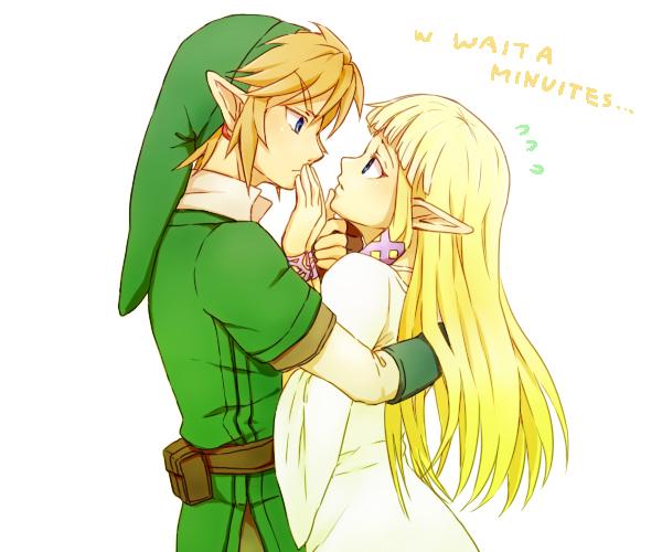 Tags: Anime, Saiba (Henrietta), Zelda no Densetsu, Zelda no Densetsu: Skyward Sword, Link (Skyward Sword), Princess Zelda, Zelda (Skyward Sword), Link, Pixiv, Fanart From Pixiv, Fanart