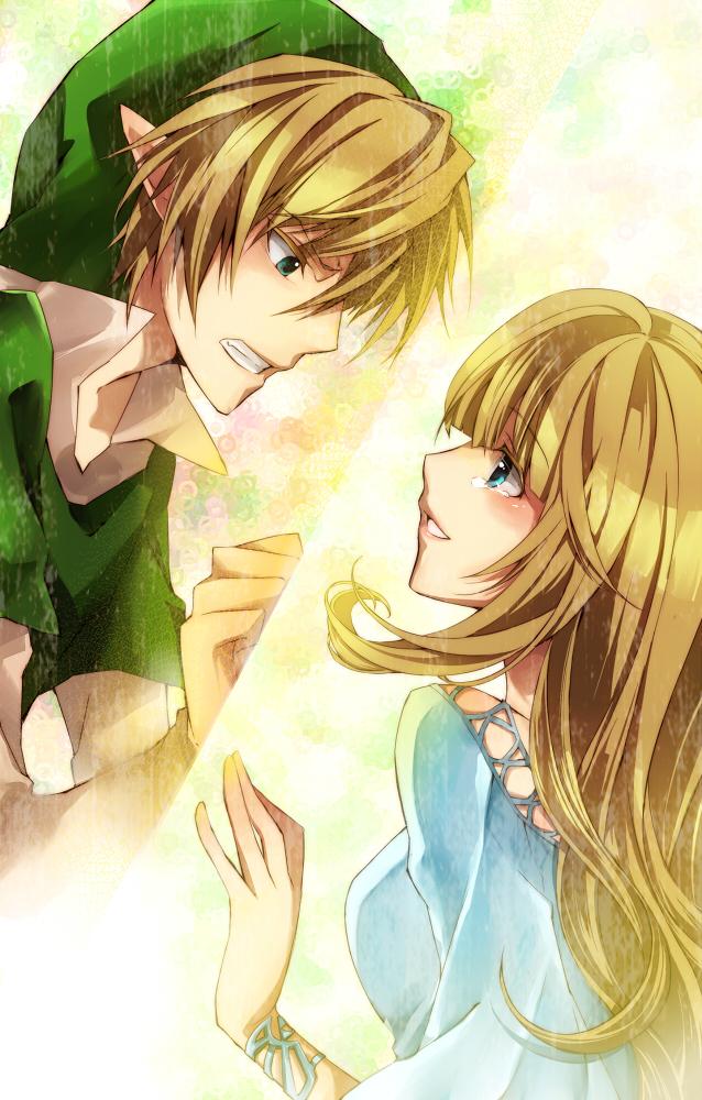 Tags: Anime, Zhihua, Zelda no Densetsu, Zelda no Densetsu: Skyward Sword, Princess Zelda, Link (Skyward Sword), Link, Zelda (Skyward Sword), Fanart From Pixiv, Mobile Wallpaper, Fanart, Pixiv