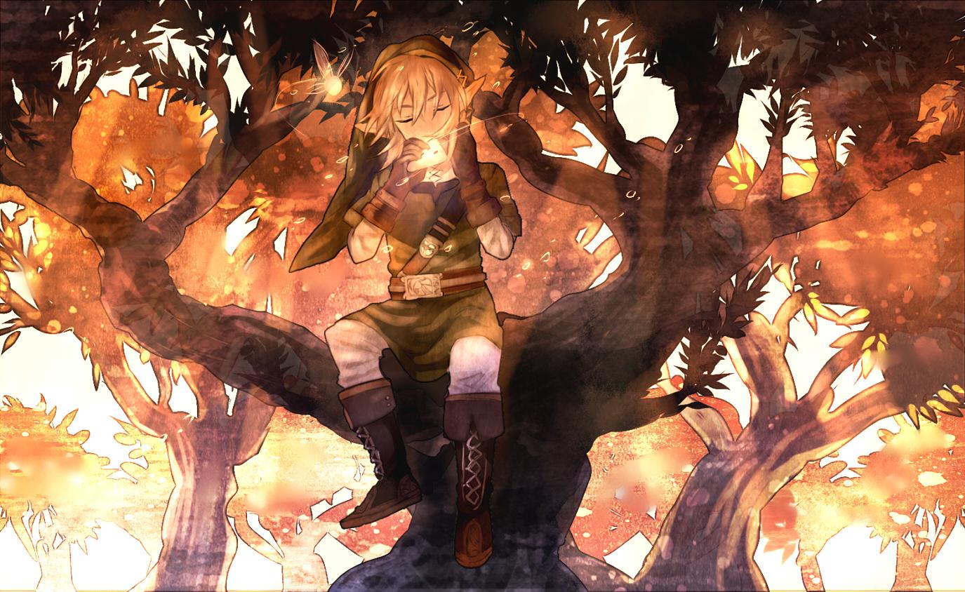 Tags: Fanart, Zelda no Densetsu, Pixiv, Link, Navi, Shilla P, Fanart From Pixiv, Zelda no Densetsu: Toki no Ocarina, Link (Toki no Ocarina)