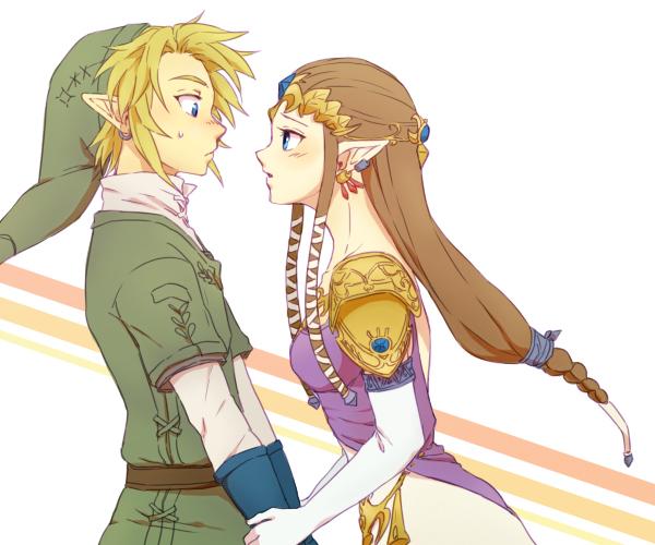 Tags: Anime, Saiba (Henrietta), Zelda no Densetsu: Twilight Princess, Zelda no Densetsu, Princess Zelda, Link (Twilight Princess), Link, Zelda (Twilight Princess), Pixiv, Fanart From Pixiv, Fanart