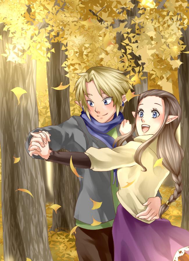 Tags: Anime, Legemd, Zelda no Densetsu, Zelda no Densetsu: Twilight Princess, Zelda (Twilight Princess), Princess Zelda, Link (Twilight Princess), Link, Mobile Wallpaper, Fanart From Pixiv, Fanart, Pixiv