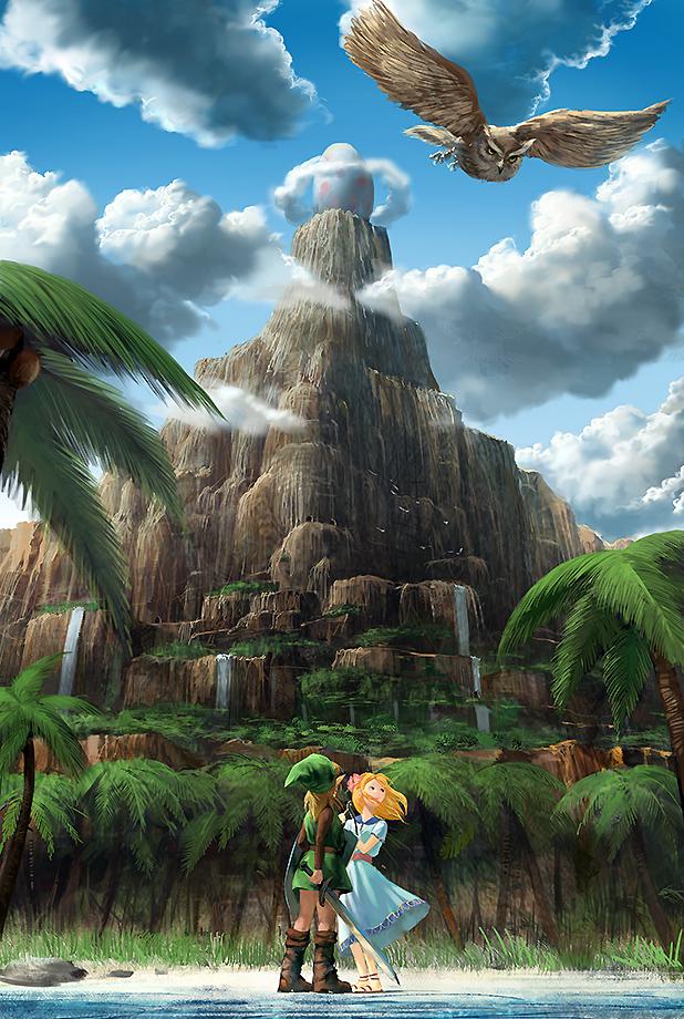 Zelda No Densetsu Yume O Miru Shima The Legend Of Zelda Links