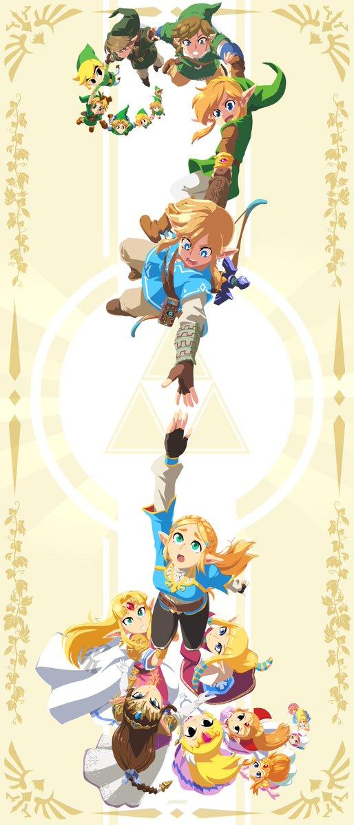 Tags: Anime, John Su, Zelda no Densetsu, Princess Zelda, Link, The Legend Of Zelda