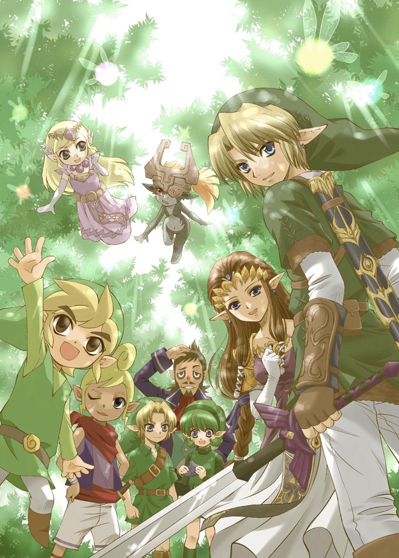 Zelda No Densetsu The Legend Of Zelda Mobile Wallpaper 319376
