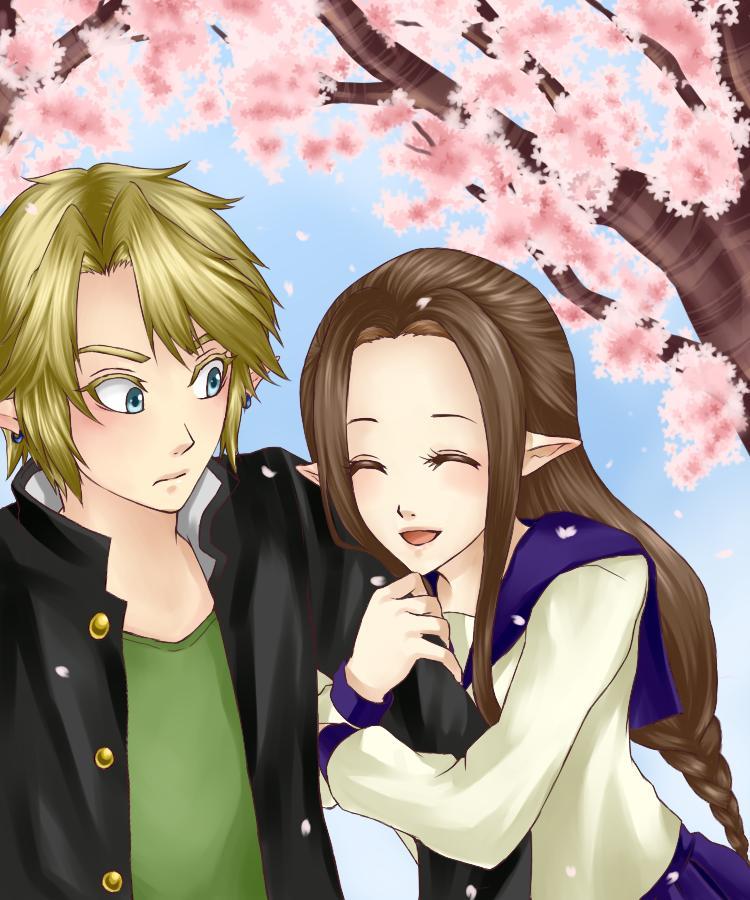 Tags: Fanart, Zelda no Densetsu, Pixiv, Link, Princess Zelda, Fanart From Pixiv, Legemd, Zelda (Twilight Princess)