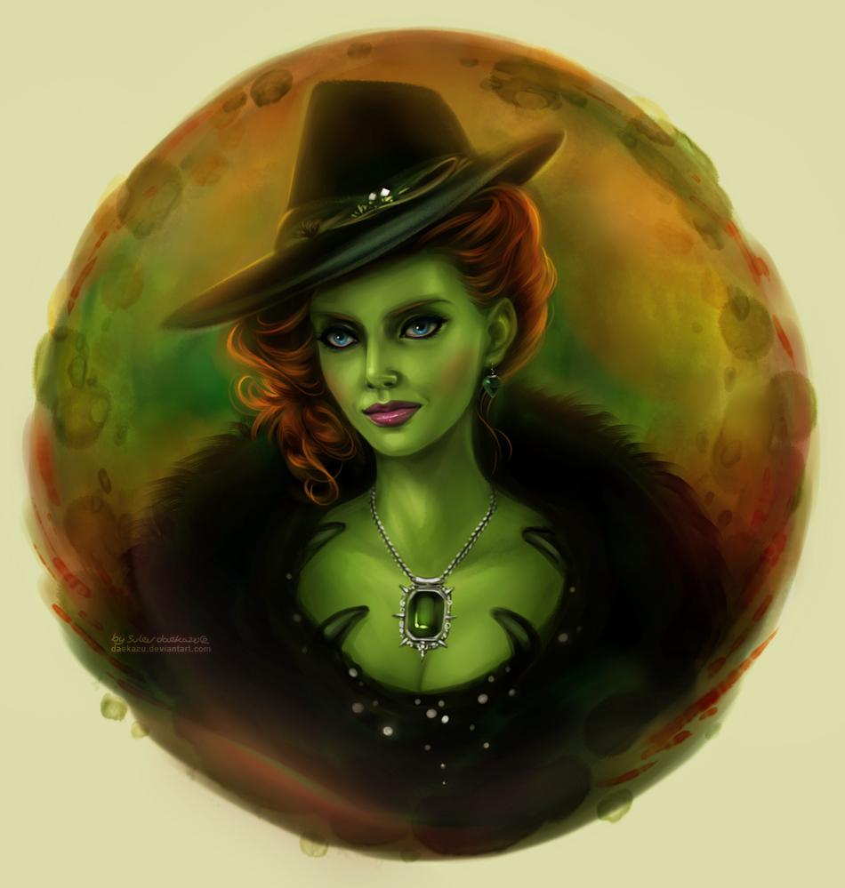 картинка зеленоглазой ведьмы любимцы обожают