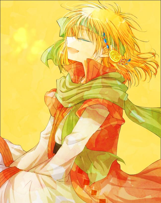 Tags: Anime, Shio (108), Akatsuki no Yona, Zeno (Akatsuki no Yona)