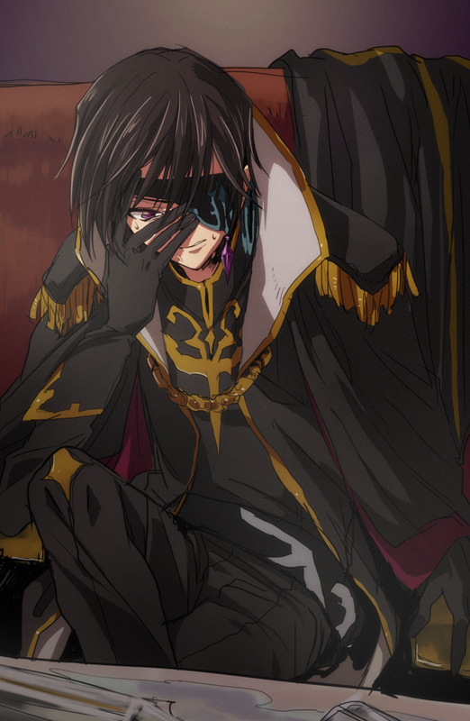 Tags: Anime, Pixiv Id 44697, CODE GEASS: Hangyaku no Lelouch, Code Geass: Boukoku no Akito, Julius Kingsley, Lelouch Lamperouge, Zero (CODE GEASS), Pixiv, Mobile Wallpaper