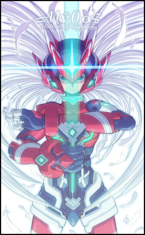 Tags: Anime, Go!, Rockman Zero, Rockman, Zero (Megaman Zero), Mobile Wallpaper