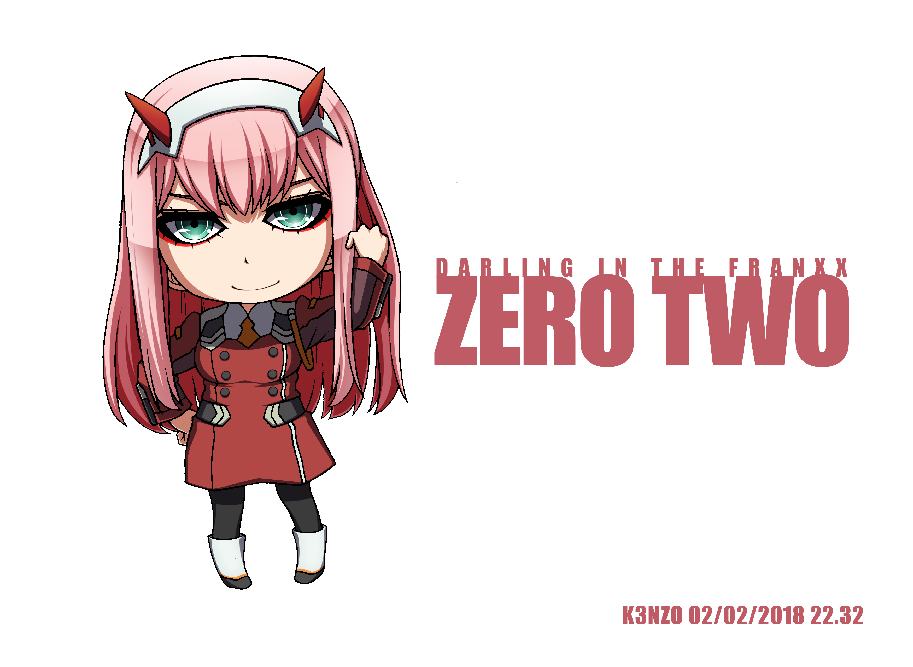 Zero Two (Darling In The FranXX) Image #2261875