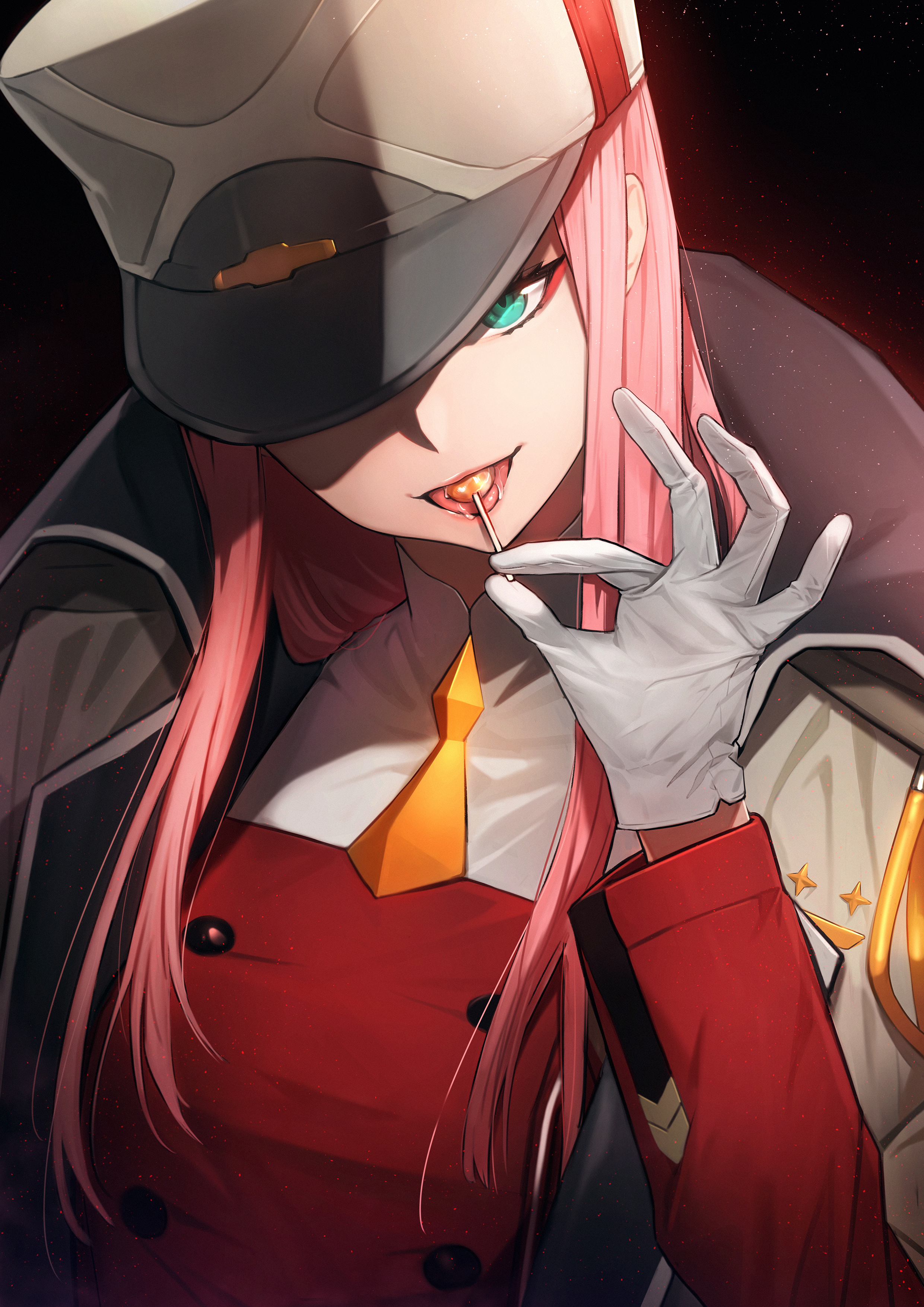 Zero Two Darling In The Franxx Zerochan Anime Image Board