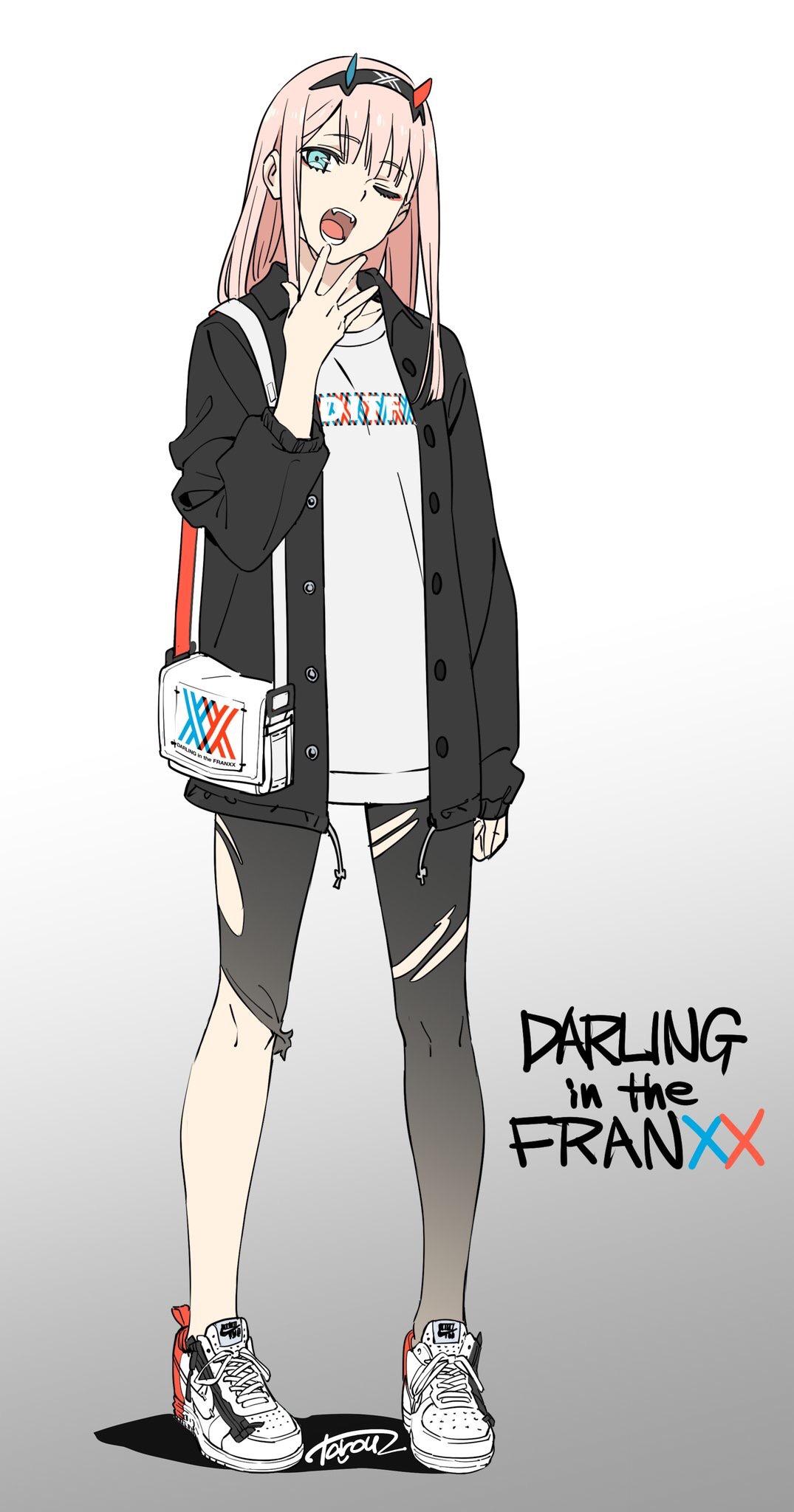 Zero Two Darling In The FranXX Zerochan Anime Image Board
