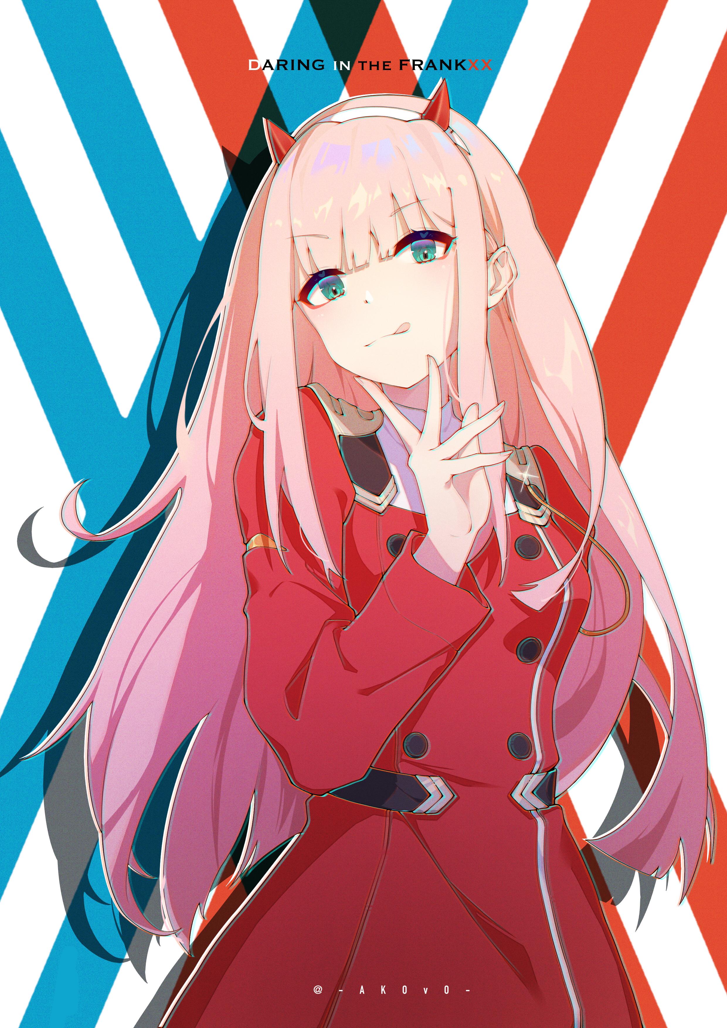 Zero Two Darling In The Franxx Mobile Wallpaper 3042612 Zerochan Anime Image Board