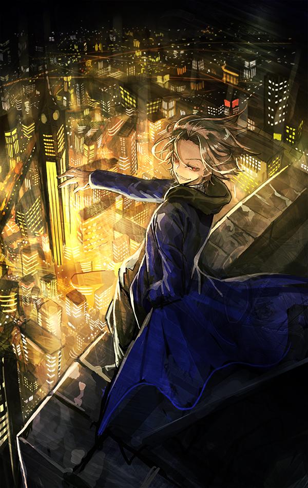 Tags: Anime, Mura Karuki, Kekkai Sensen, Zetsubouou (Kekkai Sensen), Mobile Wallpaper, King Of Despair