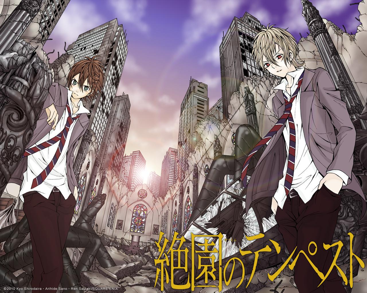 Zetsuen No Tempest Blast Of Tempest Wallpaper Zerochan Anime